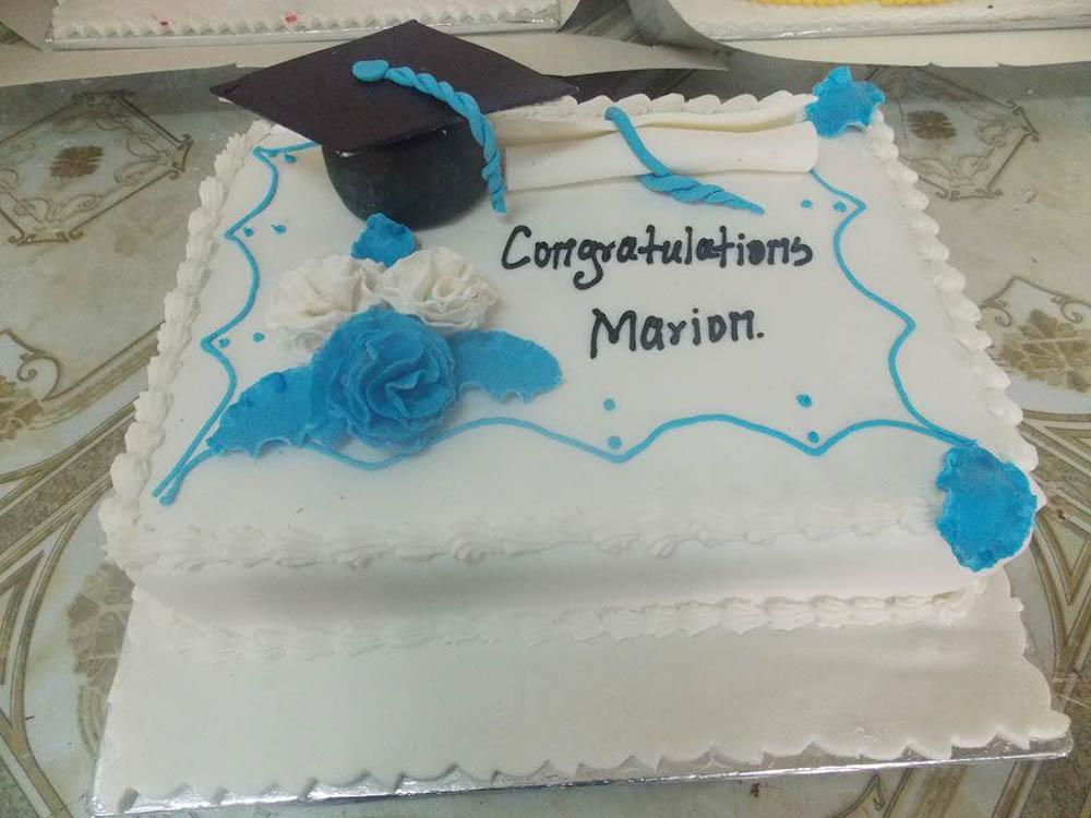 grad 2 3 - Congrats Marion