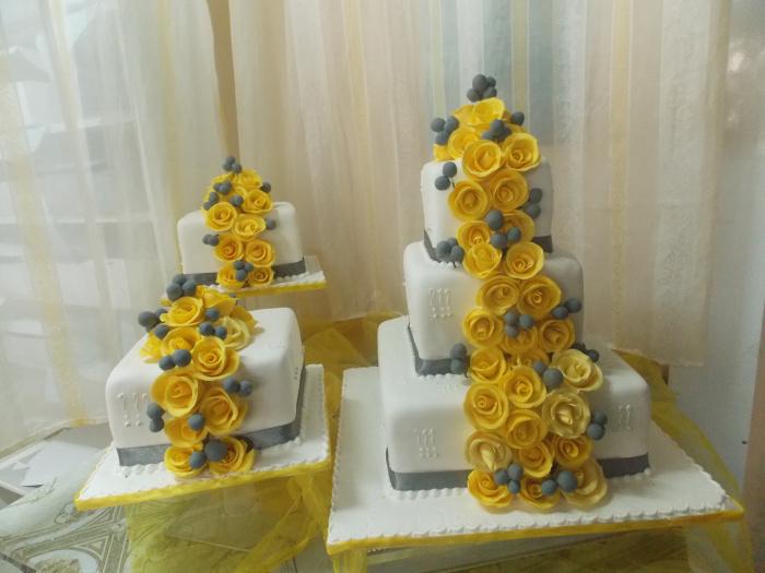 wedding 4 - Yellow roses