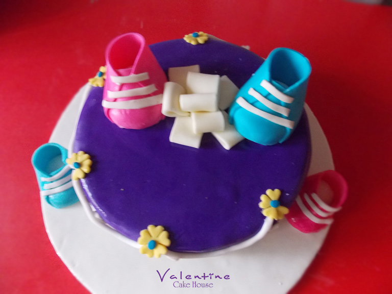 Valentine Cake House - Baby Shower Cakes