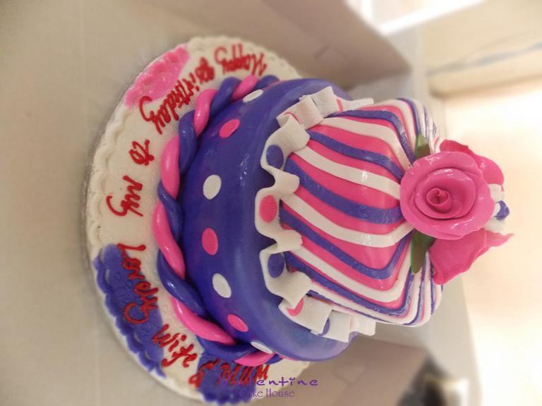Valentine Cake House - Birthdayr Cakes
