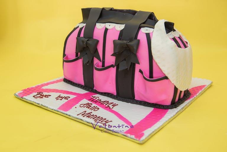 Valentine Cake House - Baby Shower Cakes