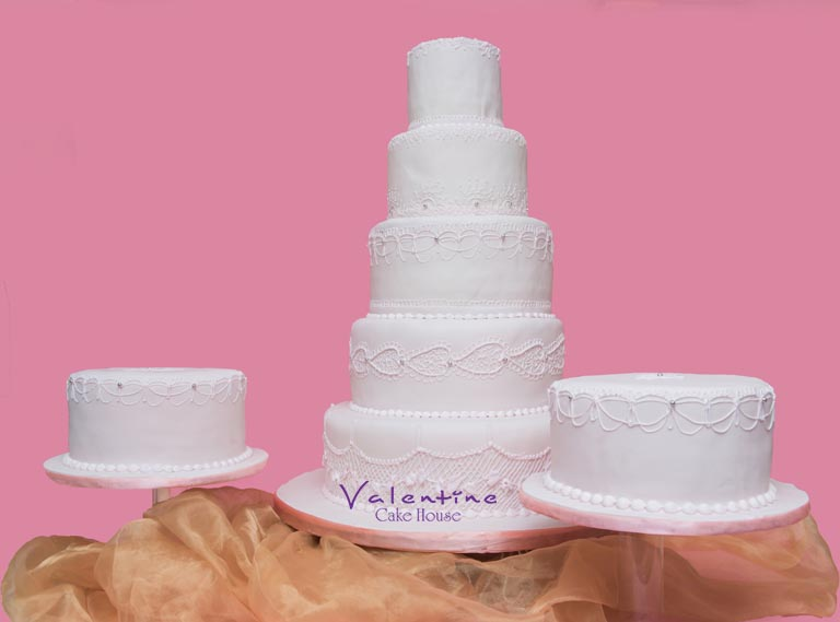 Valentine Cake House - Wedding Cakes
