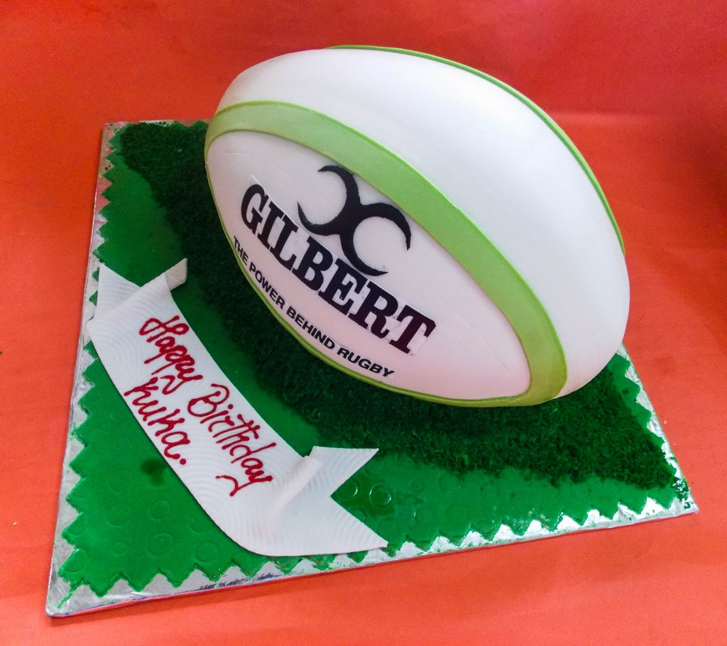 DSCN9471 1024x910 - Rugby Ball Cake