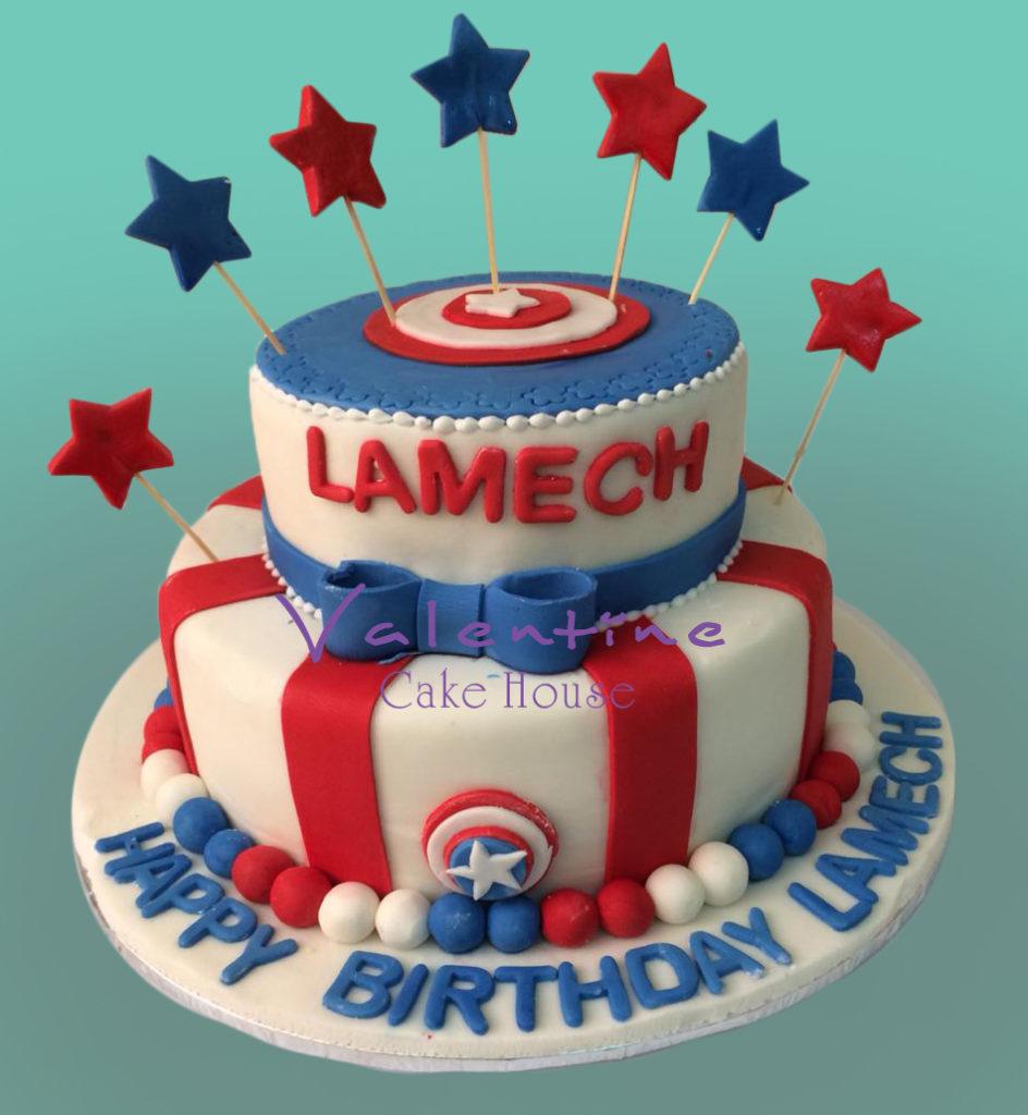 IMG 20180609 WA0005 944x1024 - Captain America Cake